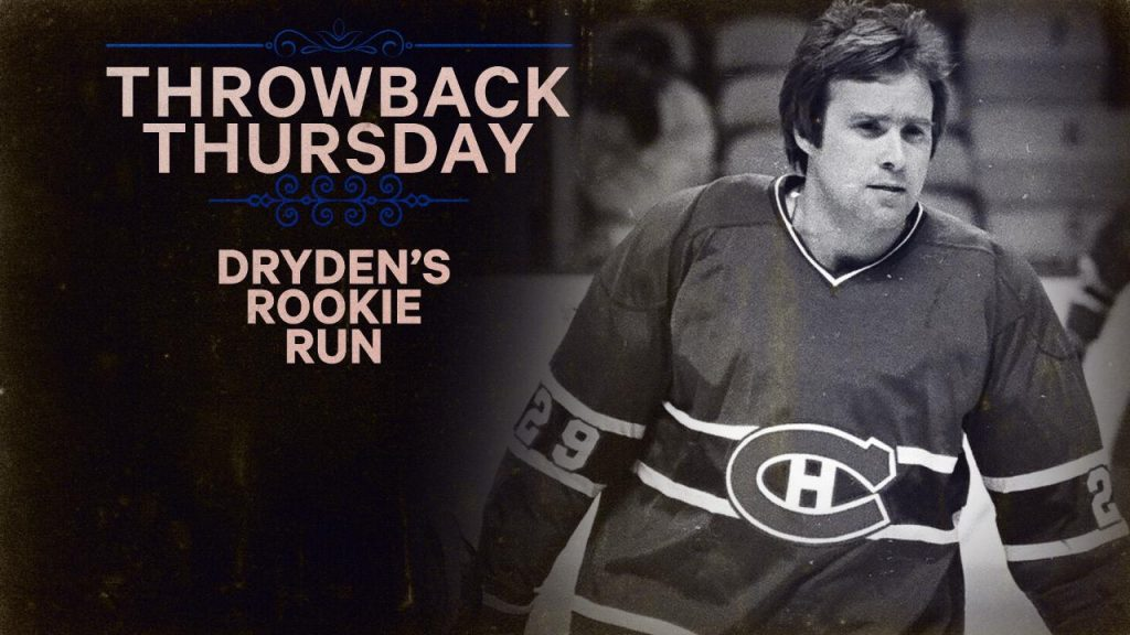 Tbt Ken Drydens Rookie Run With The Canadiens Sportsnetca