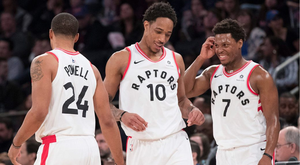Raptors' DeMar DeRozan (thigh) misses first game of season