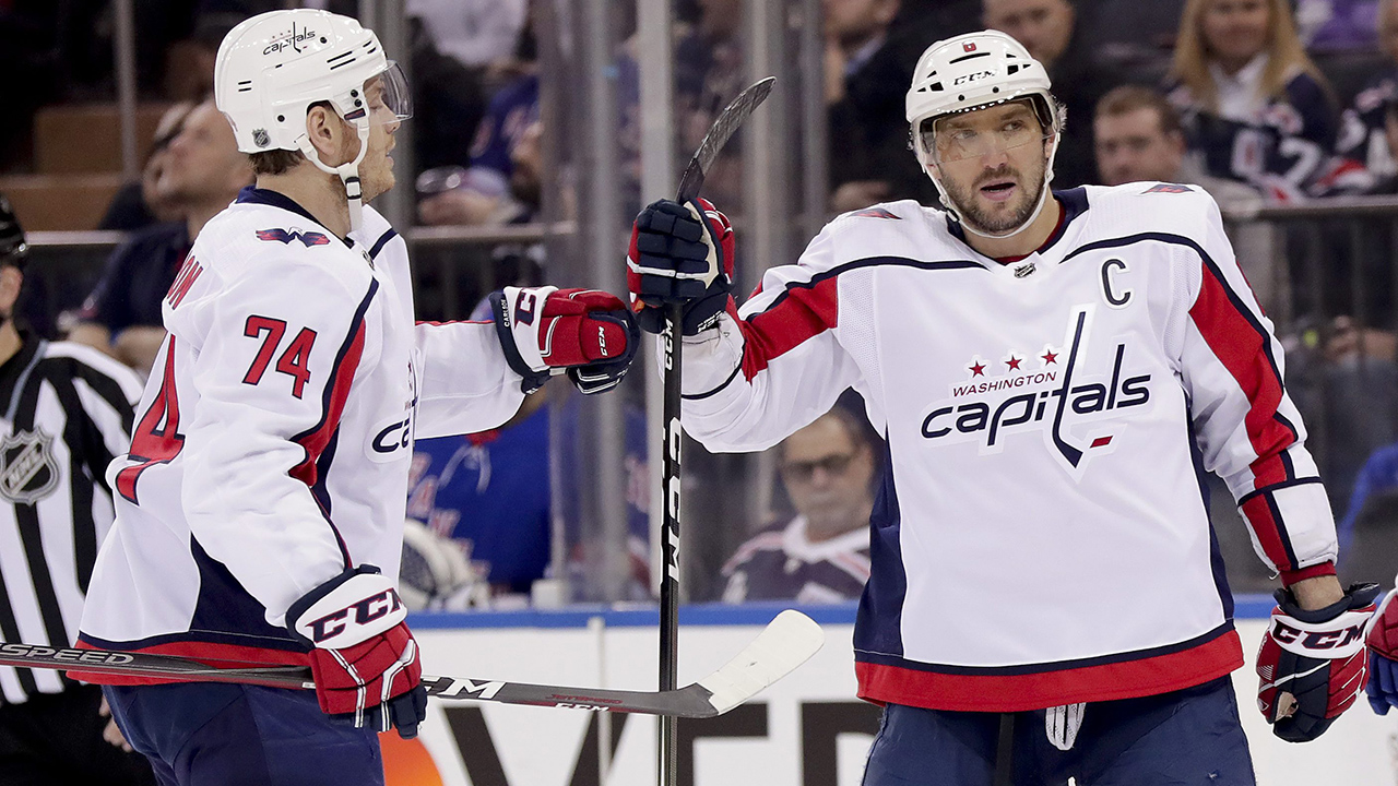 Capitals eliminate blue jackets behind ovechkins 2 goals sportsnet fandeluxe Images
