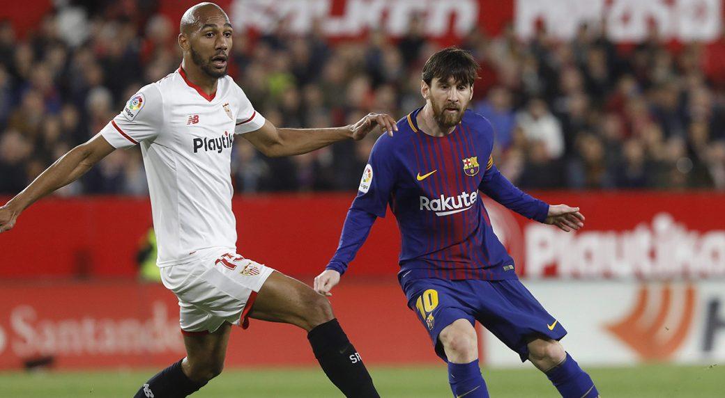 Image result for N'zonzi vs Messi