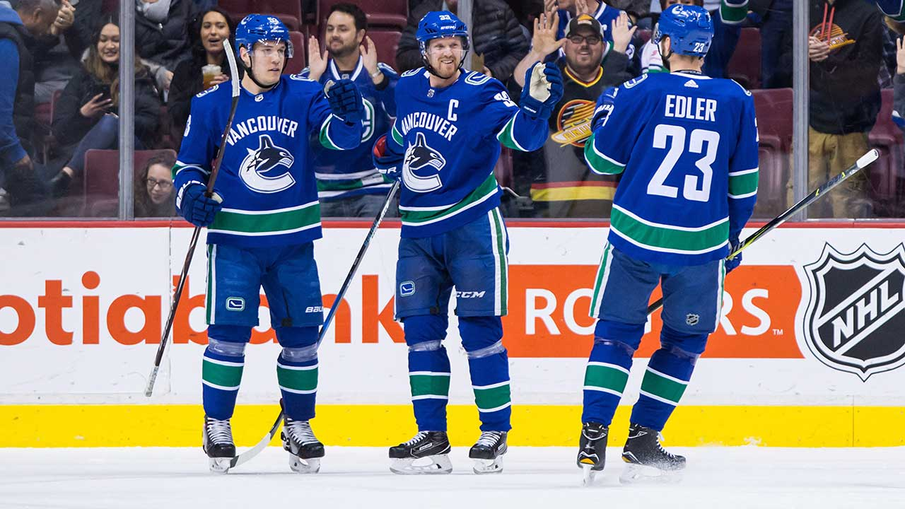 Alex Edler's Special Night Comes After Years Of Consistent Play