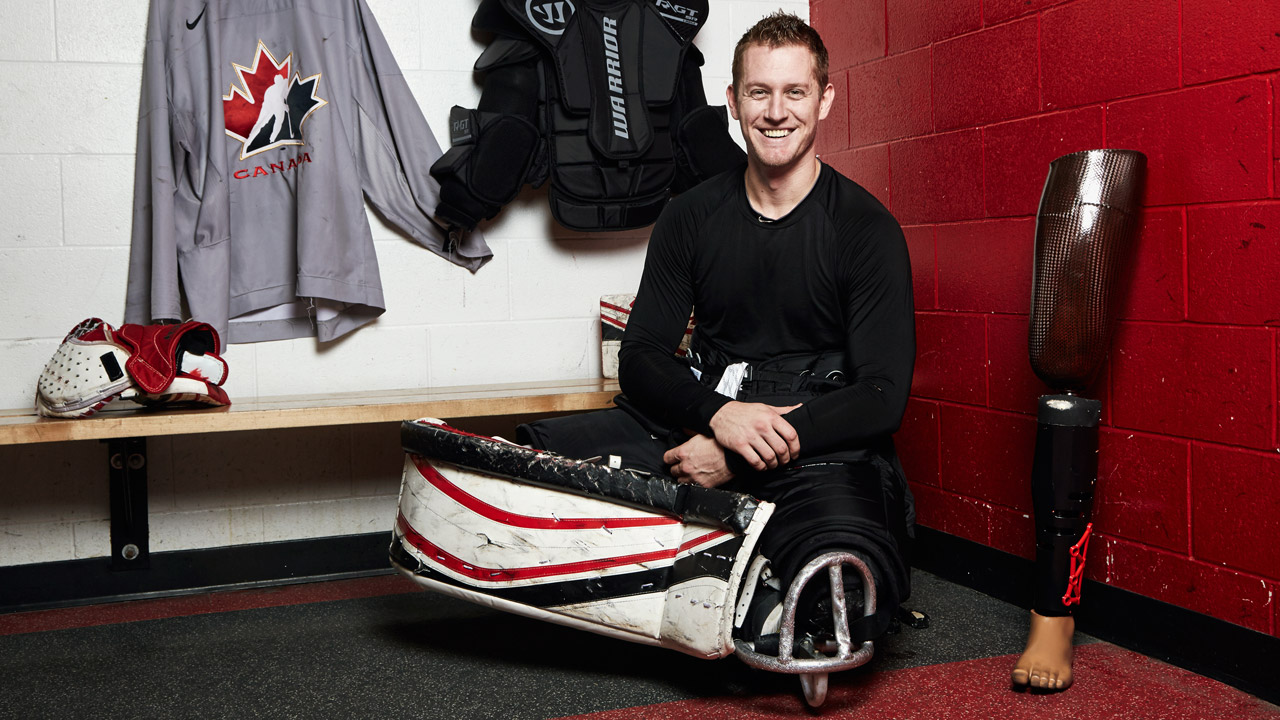 Pyeongchang: Big Read - Meet The Army Vet Manning The Crease For Team Canada