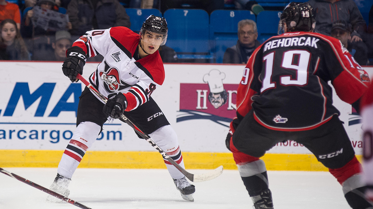 67b1b4878 Young veteran Joe Veleno ready for another long QMJHL playoff run. The  story Joseph Veleno of the Saint John Sea Dogs who was given exceptional  status.
