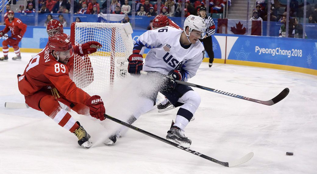 b672d8afb Bruins sign U.S. Olympic star Ryan Donato to entry-level deal ...