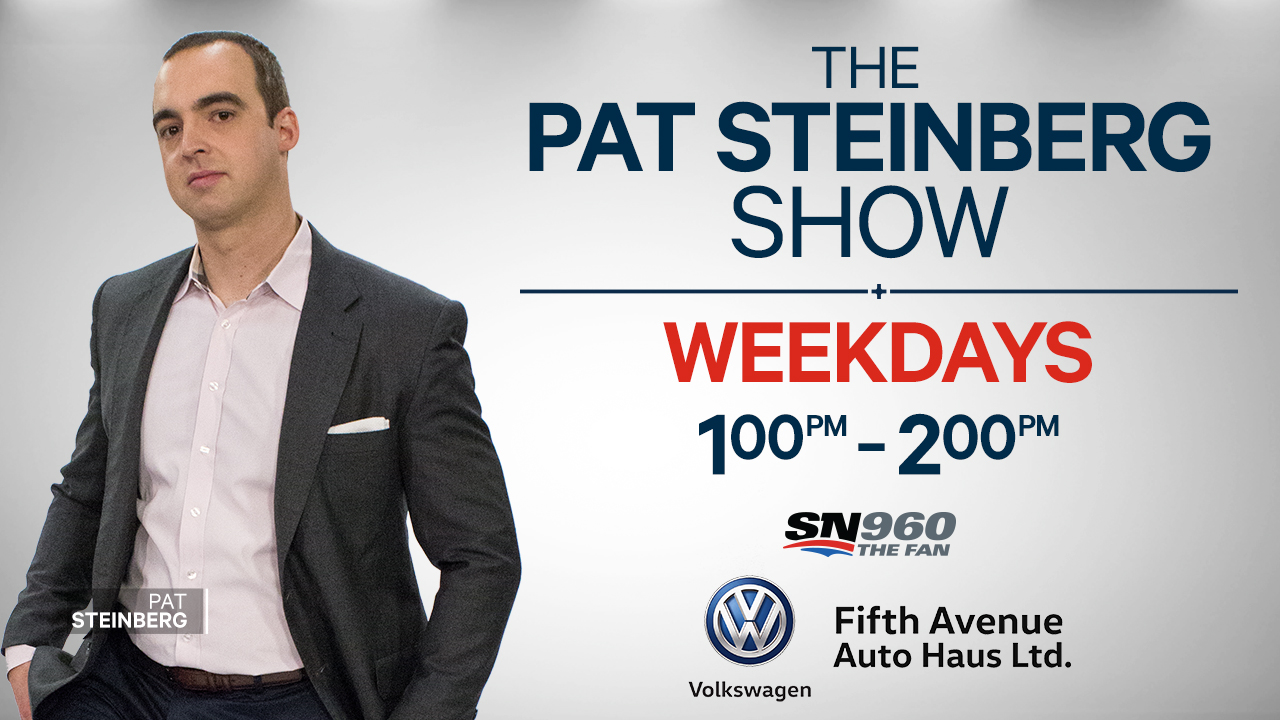 The Pat Steinberg Show Logo Image