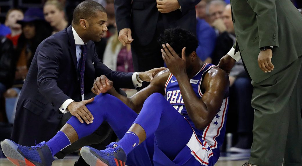 77211c7d385 76ers  Embiid  unlikely  for playoff Game 1 with eye injury ...