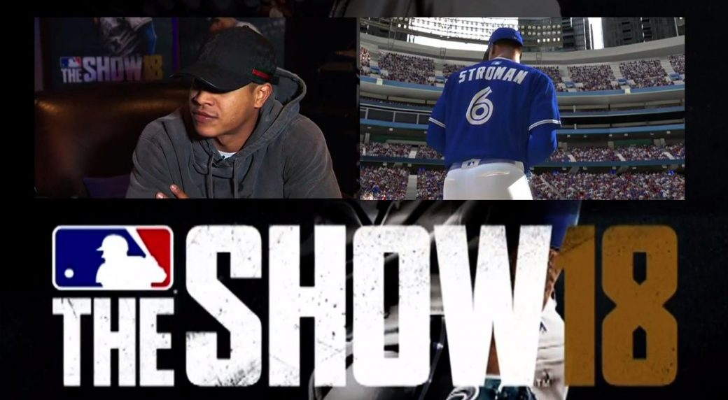 1f1b64bf9bf Blue Jays  Marcus Stroman on MLB  The Show 18 - Sportsnet.ca