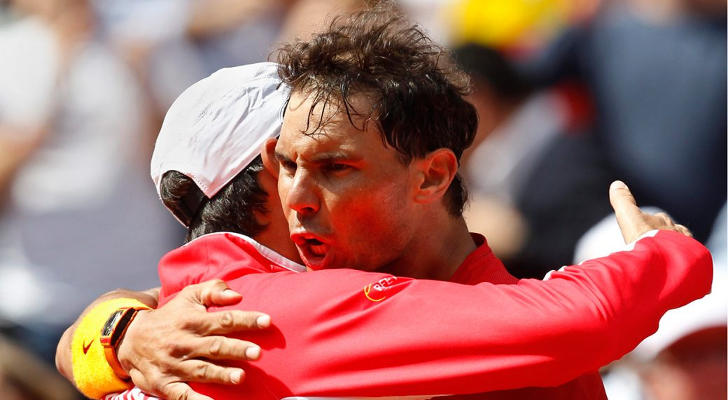 Nadal, Ferrer put Spain into Davis Cup semis