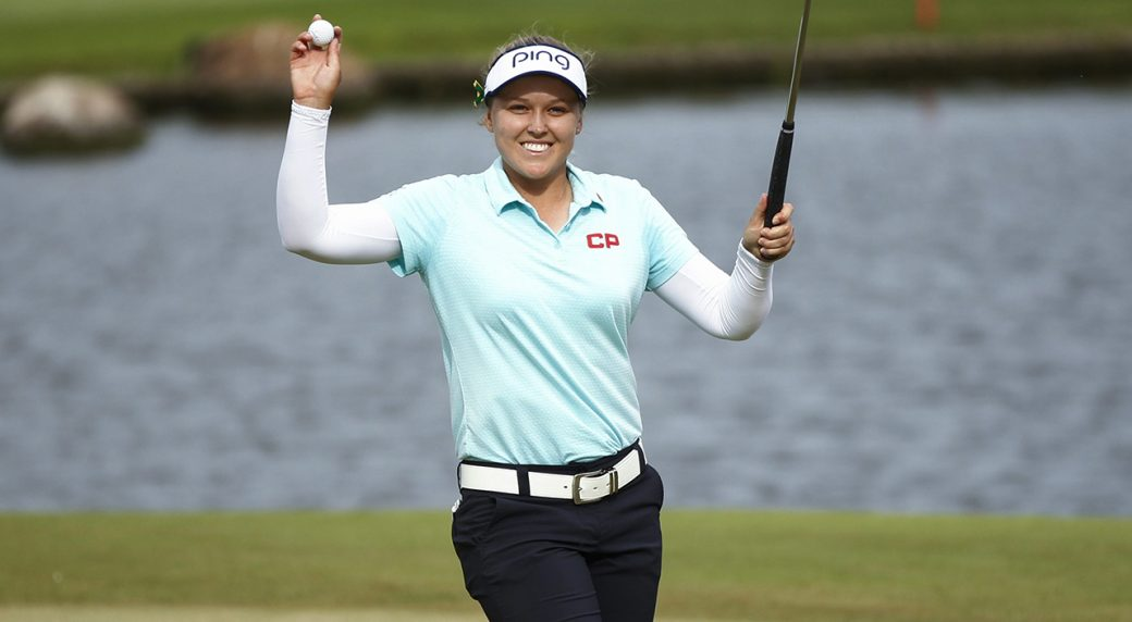 Brooke Henderson Dedicates Lotte Championship Win To Humboldt