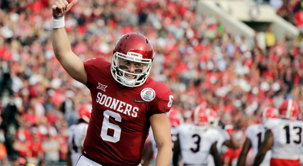 932d13efd Browns make early splash at NFL Draft with Baker Mayfield selection ...