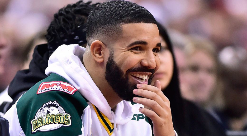 Kendrick Perkins Gets Into It With Raptors Superfan Drake