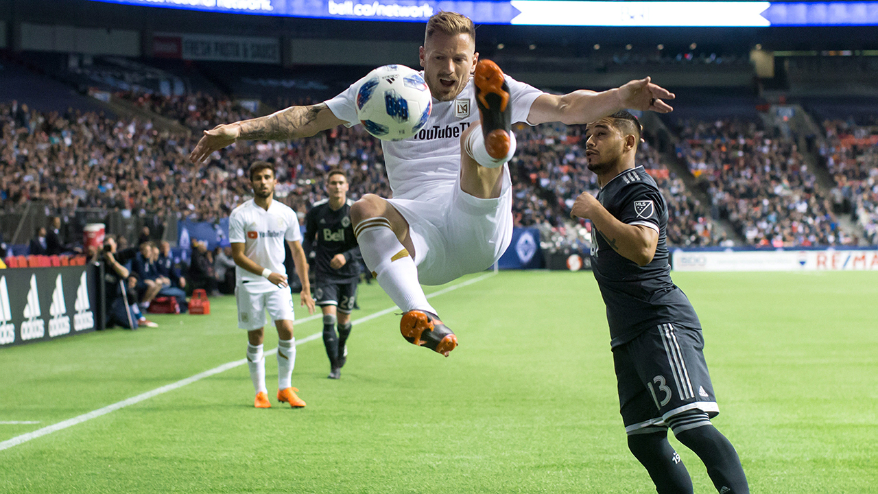 Whitecaps see home undefeated streak end in loss to Los Angeles FC