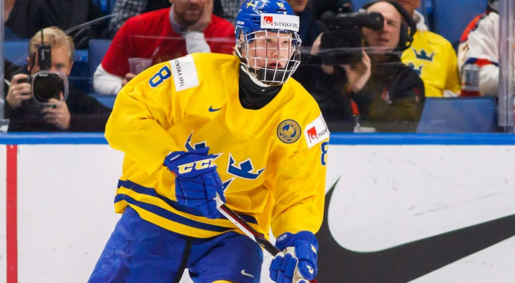 Dahlin gets two-game IIHF ban for medal ceremony protest in Buffalo