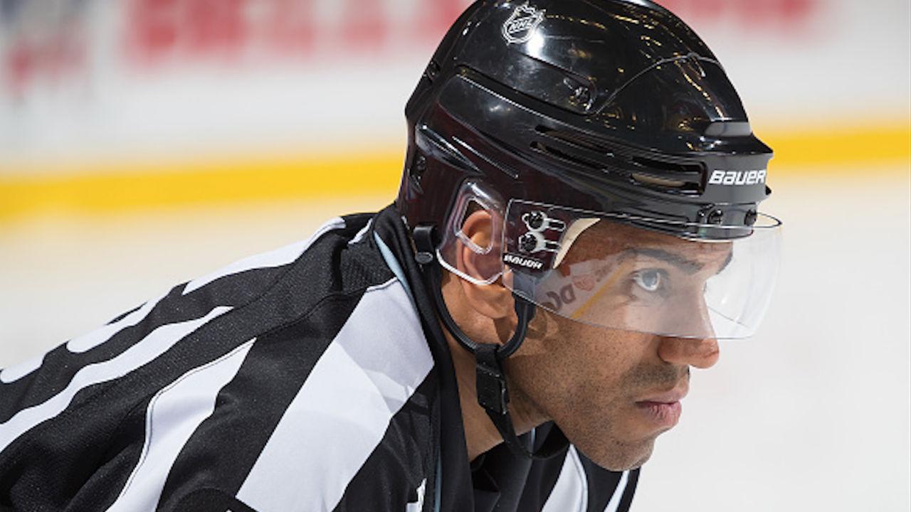 NHL linesman Shandor Alphonso. (NHL)