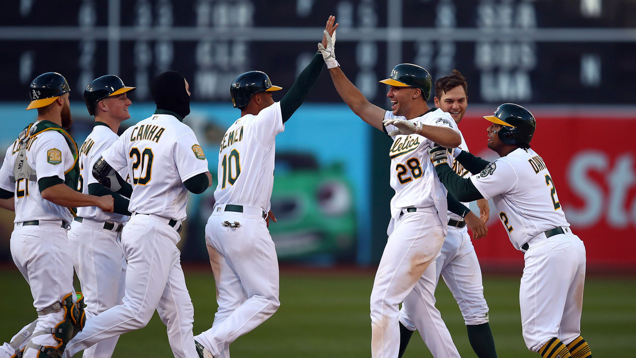 Athletics beat White Sox in 14-inning, nearly 6-hour game