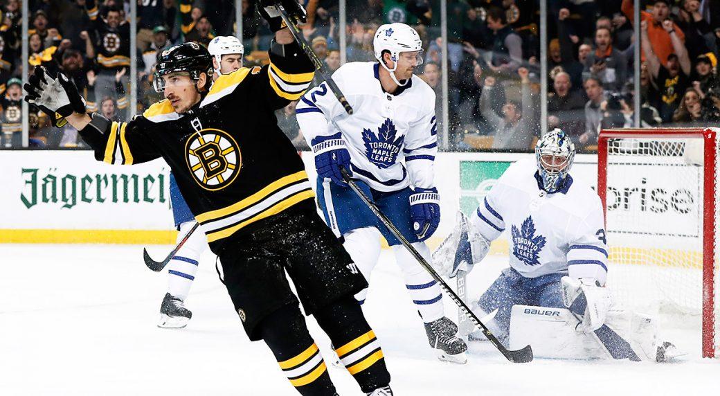Toronto-Maple-Leafs;-Brad-Marchand;-Boston-Bruins;-Stanley-Cup-Playoffs