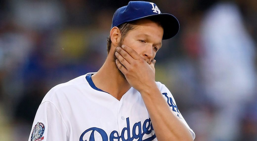 Dodgers ace Kershaw to DL with biceps injury