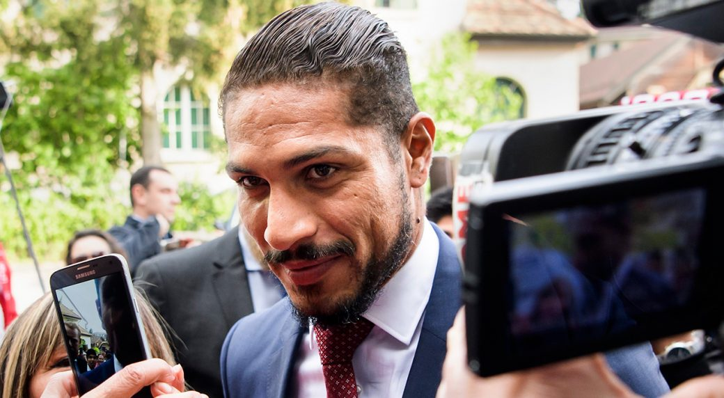 Image result for Peru Captain Paolo Guerrero Banned from World Cup in Doping Case