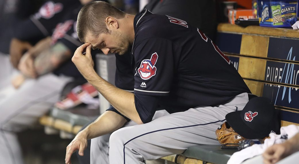 Trevor Bauer strikes out 10, Indians beat Tigers, 6-0