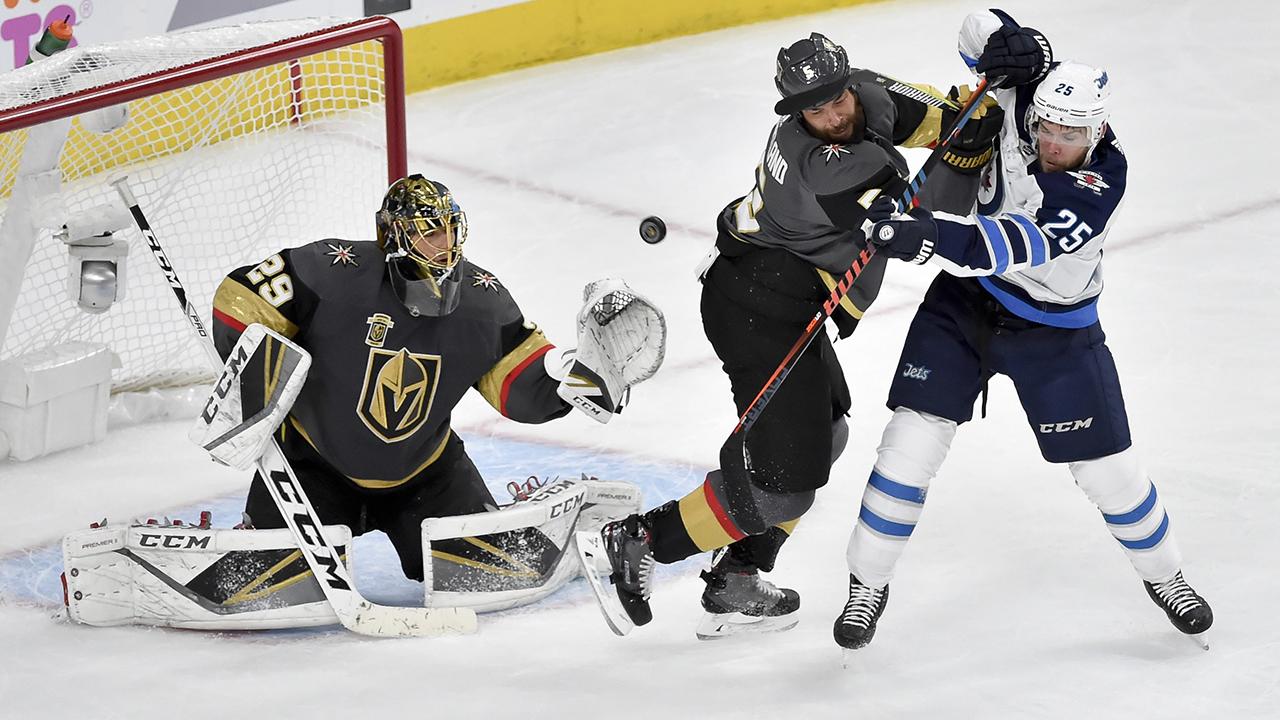 Jets-Golden Knights Notebook: Winnipeg struggling vs. Fleury