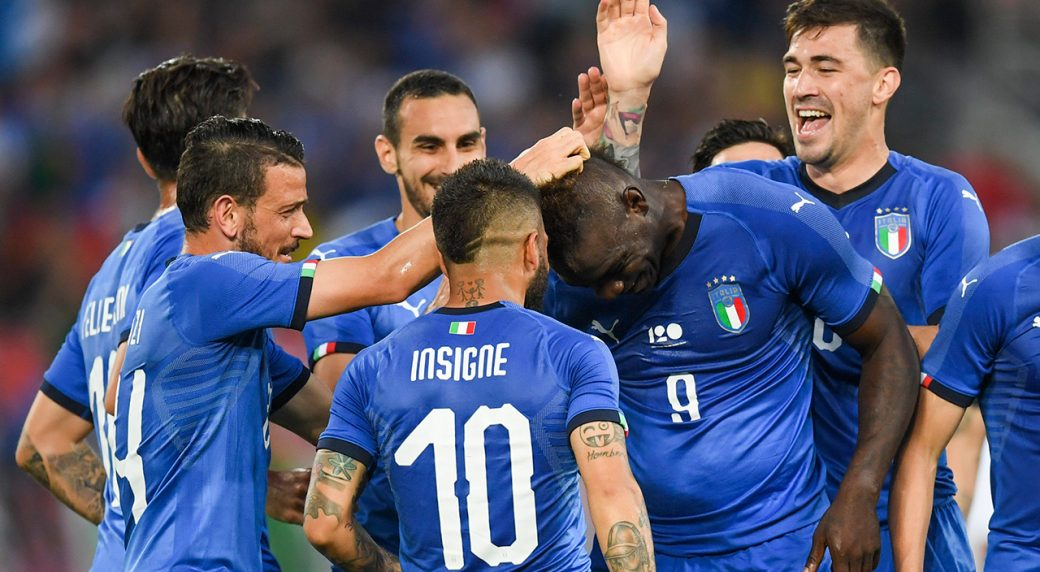 Nice striker Mario Balotelli dedicates Italy goal to Astori