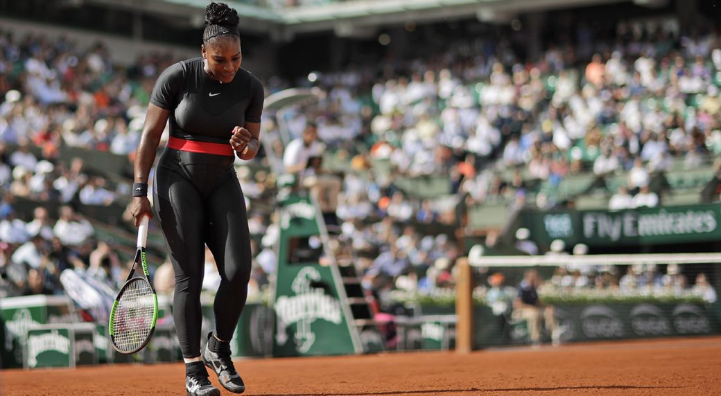 Serena Williams wins on return to Grand Slam tennis