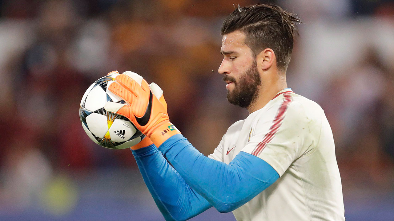 Brazil goalkeeper Alisson anointed No. 1 for World Cup