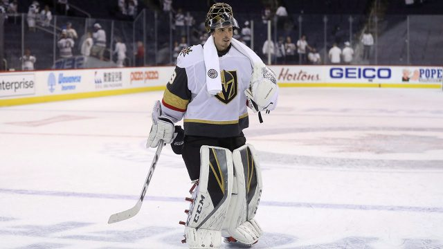 d3bd5cc1c Golden Knights  Fleury not worried about long layoff before Stanley Cup