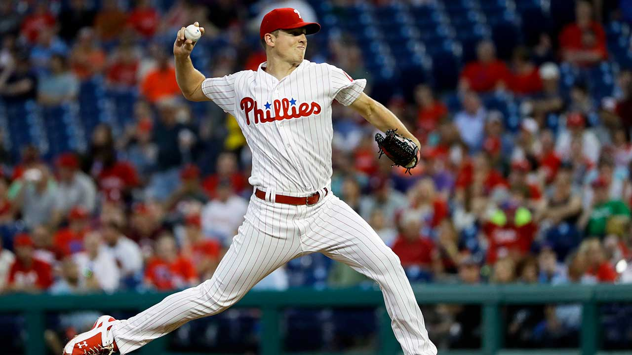 Canada's Nick Pivetta throws 7 strong innings as Phillies beat Braves