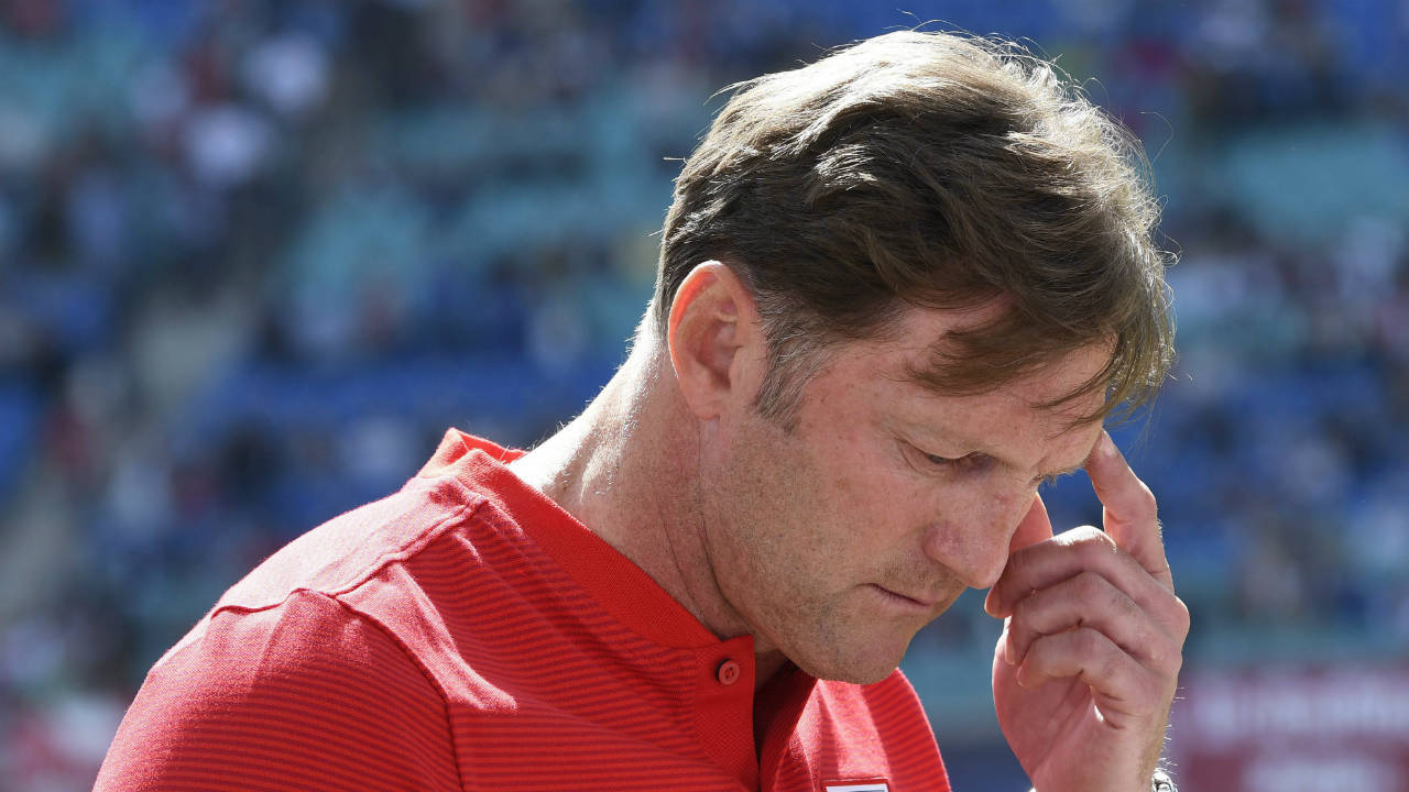 Leipzig and coach Ralph Hasenhuettl agree to part ways
