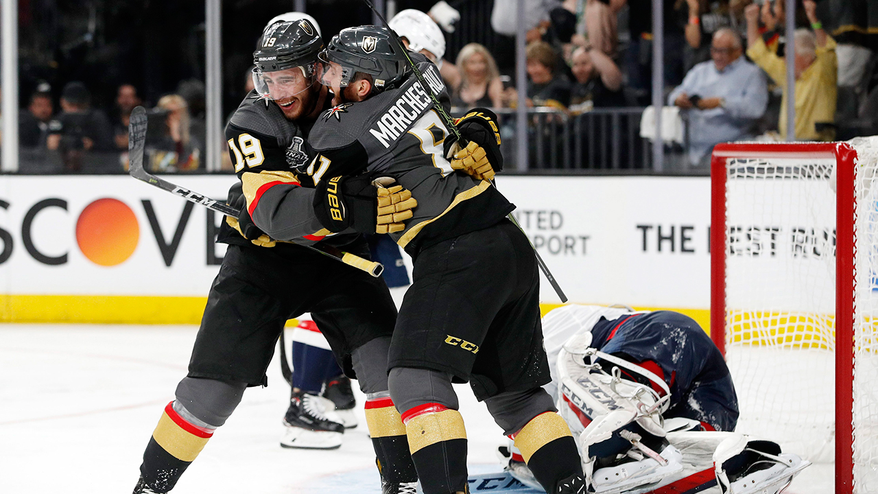 a39ca0284 Golden Knights hold on to beat Capitals in Game 1 of Stanley Cup Final