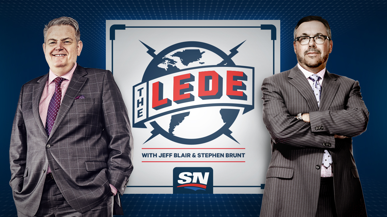 The Lede with Jeff Blair and Stephen Brunt Logo Image