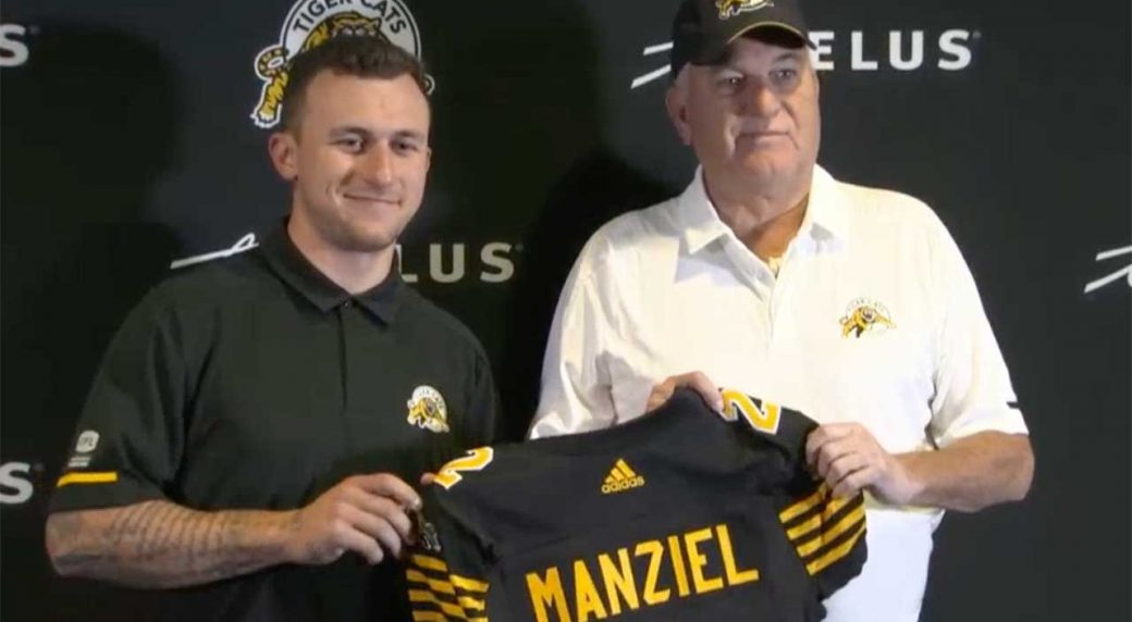 Watch Live  Tiger-Cats introduce Johnny Manziel - Sportsnet.ca 4be5b1202
