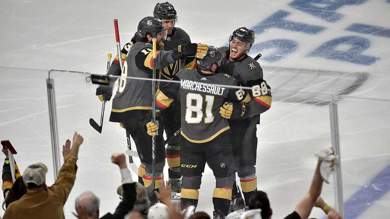 5b90c29f7 From Elantra to Lambo  Knights  Marchessault basking in playoff experience