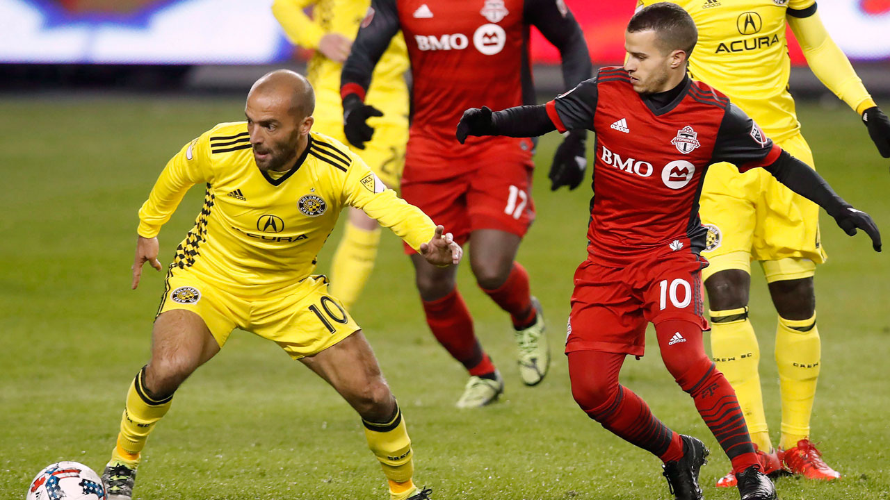 Crew score 3 late goals, salvage draw with Toronto FC