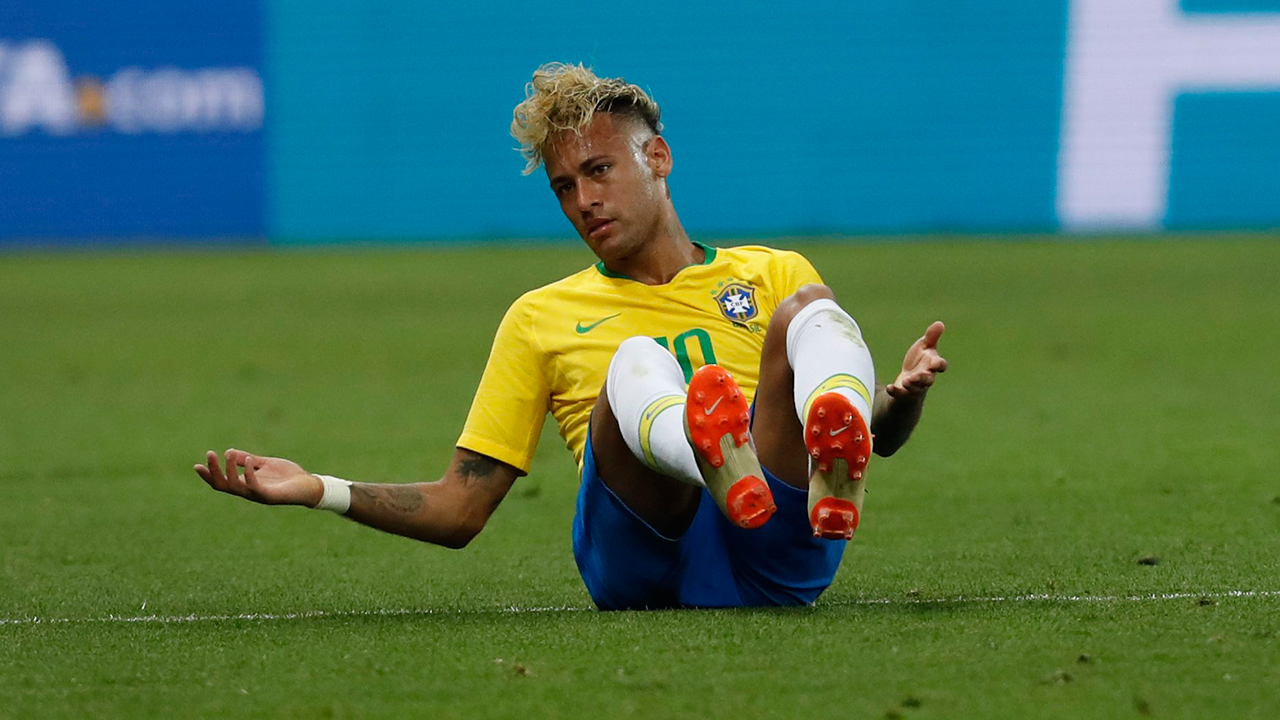 FIFA's Van Basten urges Neymar to cut out theatrics