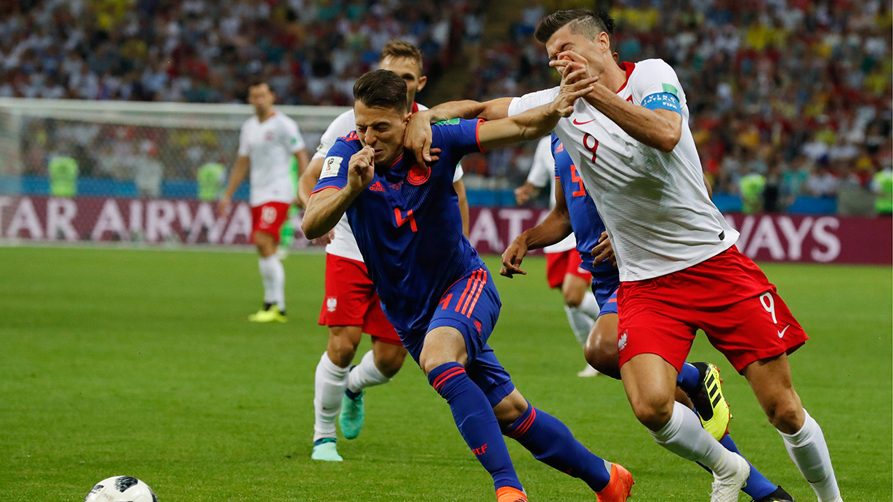 Colombia cruises, eliminates Poland from 2018 World Cup