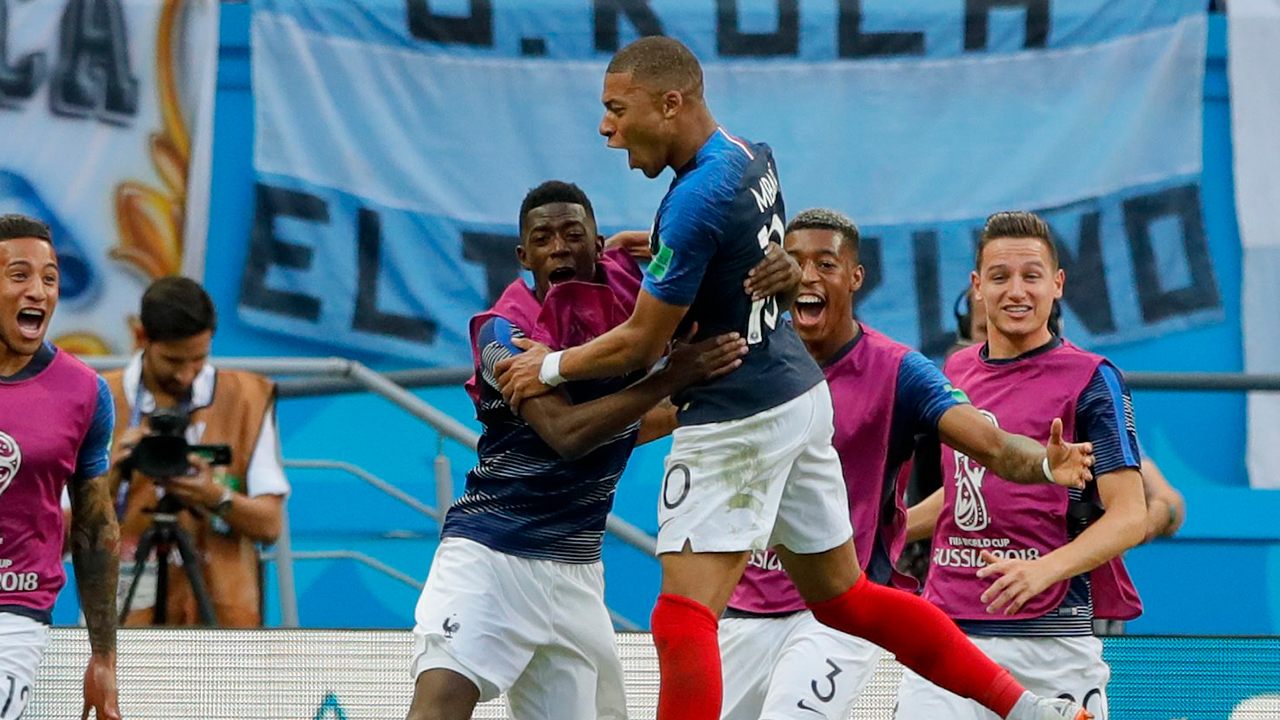 Mbappe reveals he played World Cup finals with a back injury