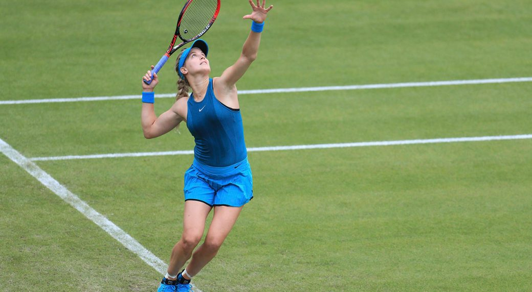 Former golden girl Bouchard scraps it out in qualifying