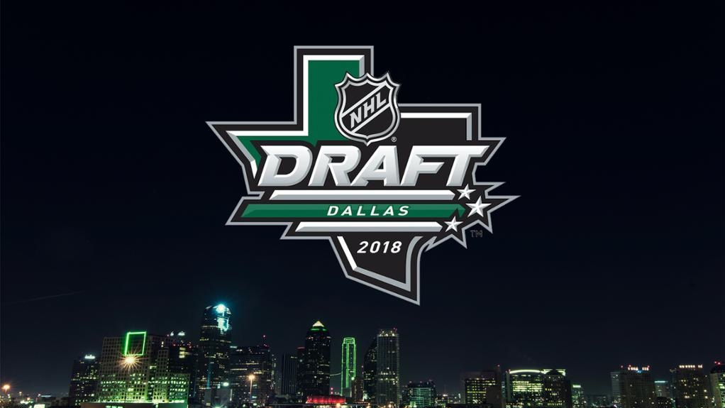 selection order for 2018 nhl draft released by league