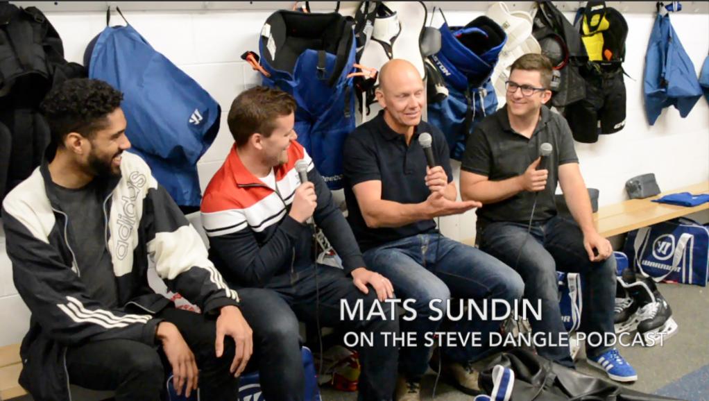 Mats Sundin joins the Steve Dangle Podcast