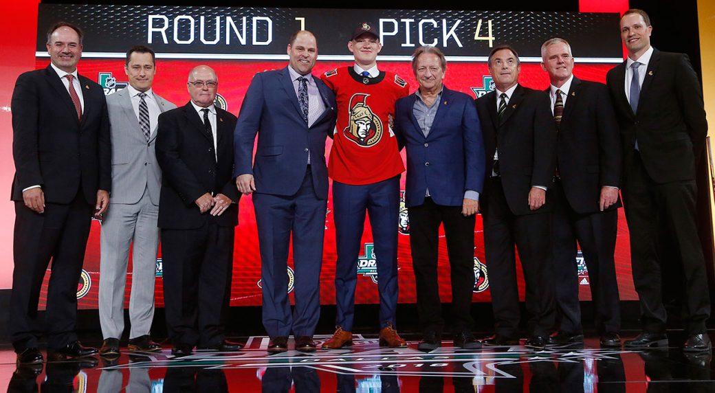 Senators get winger Brady Tkachuk with No. 4 pick at NHL Draft ... 81ace4703