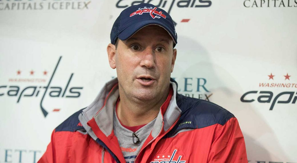 Washington Capitals new head coach Todd Reirden. (Manuel Balce Ceneta AP) 24f6910cd252