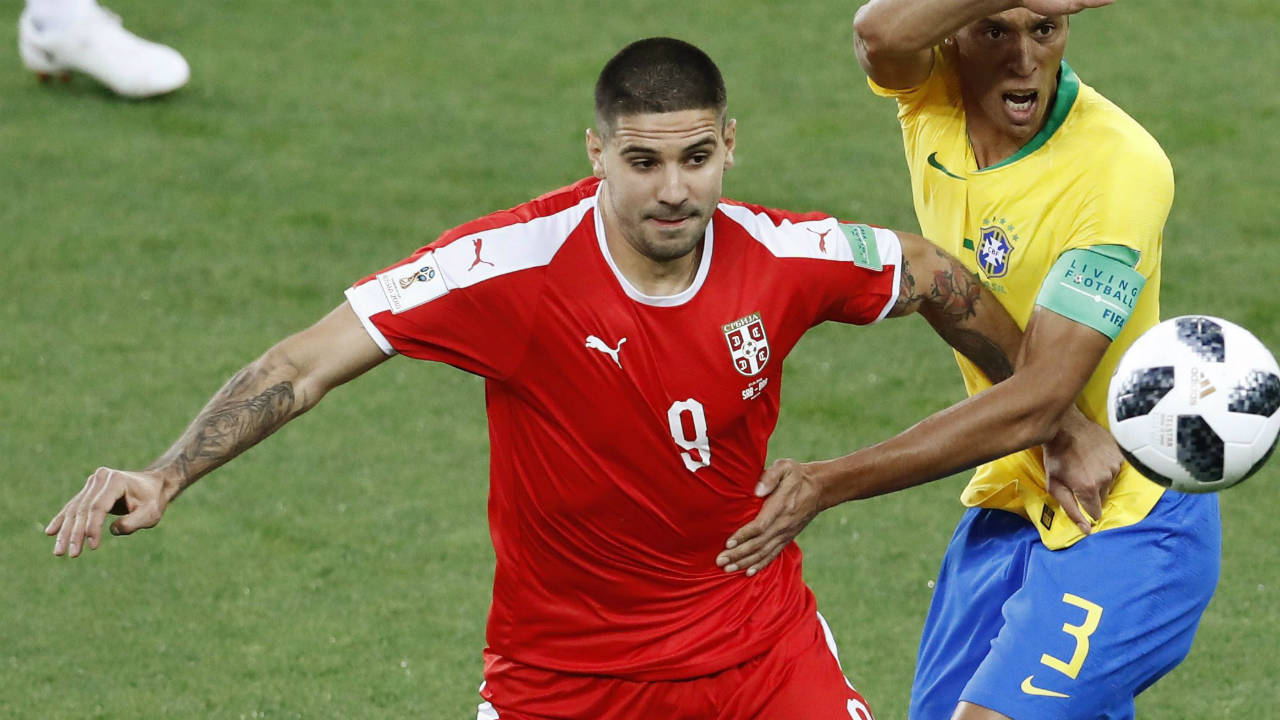 Serbia forward Mitrovic signs permanent deal with Fulham