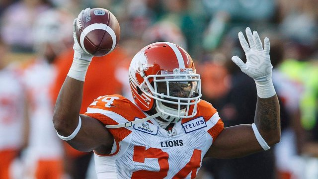 0b22dce37 Lions  Jeremiah Johnson doubtful for Redblacks game with ankle injury
