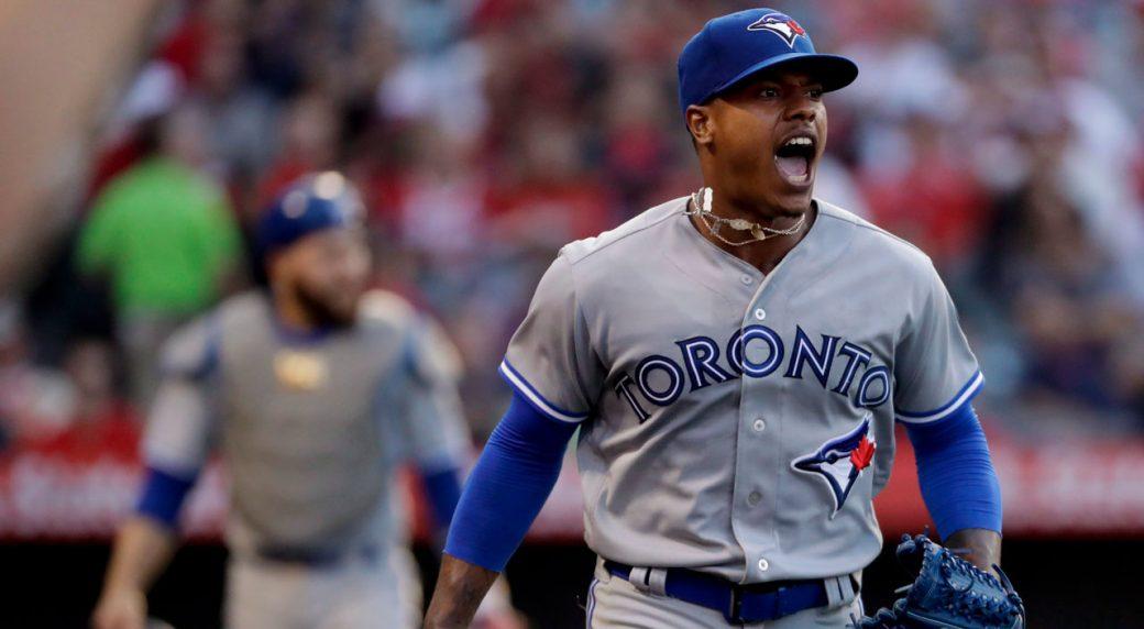 Canadian Tattoo Artist Inks Toronto Skyline On Blue Jays Pitcher