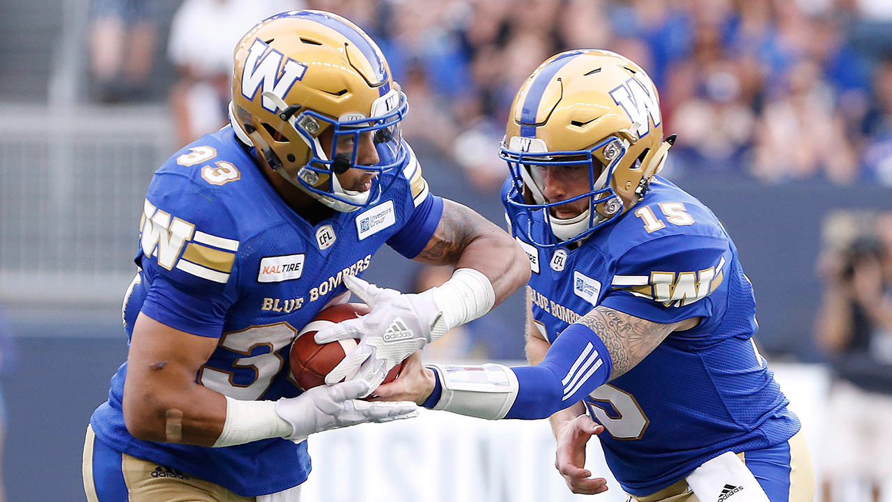 Matt Nichols leads Blue Bombers to crushing win over Lions