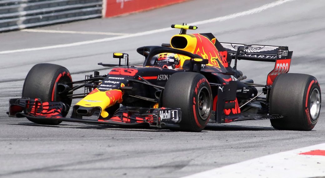 Verstappen fastest in second practice but hits engine trouble