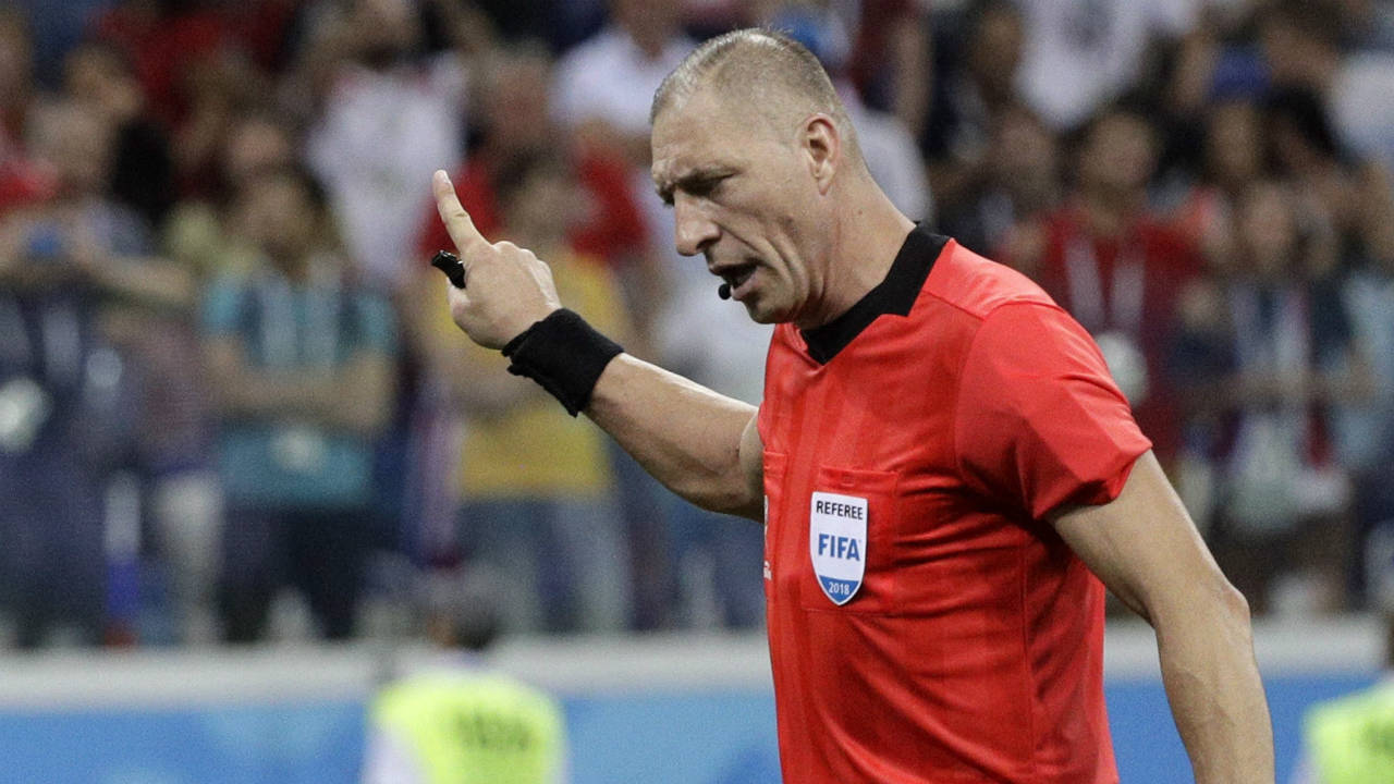 European, South American refs picked for World Cup quarterfinals