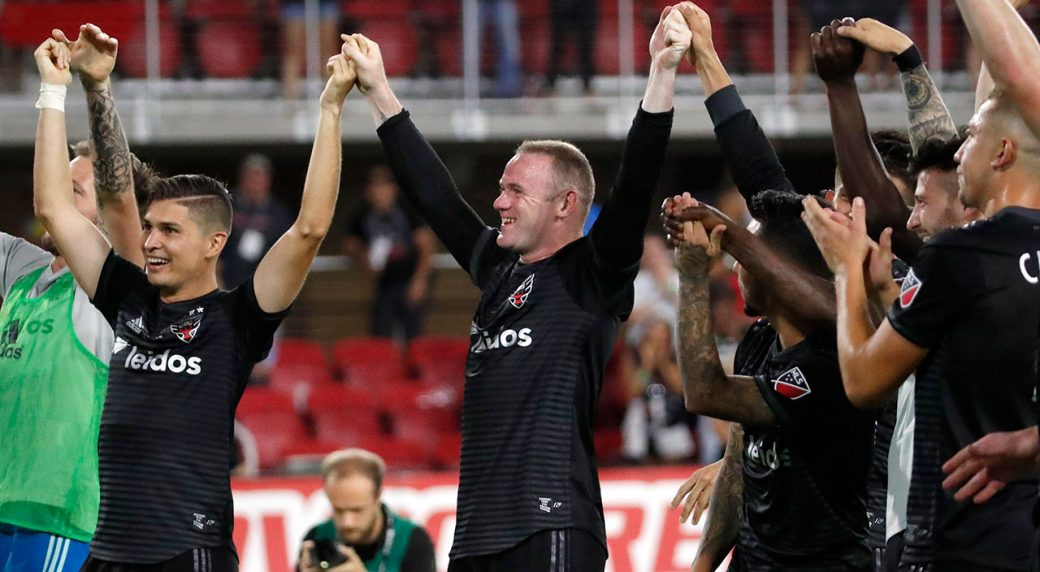 Wayne Rooney comes off bench to make MLS debut with DC United